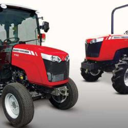 Nya MF-småtraktorer på Agromek