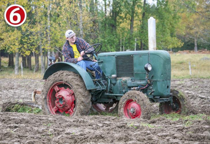 Lucka 6: Ser du vilken traktormodell det är?
