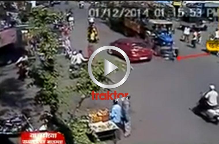 Överkörd av en traktor!!!