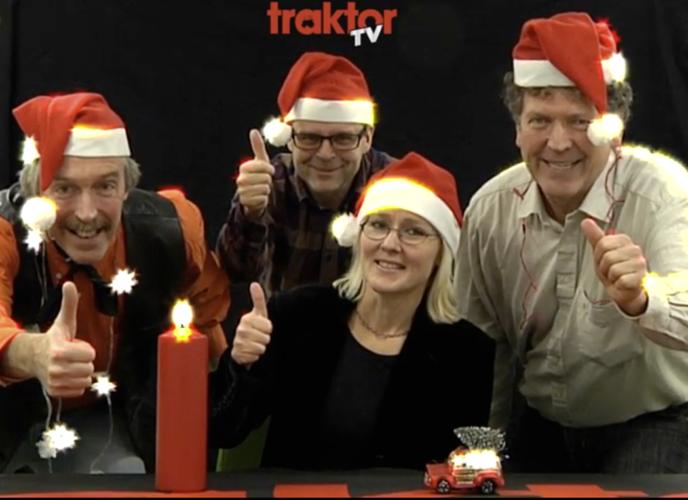 God Jul traktor-Sverige!