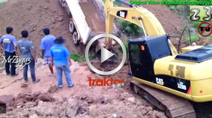 CATTEN räddar lastbilen!