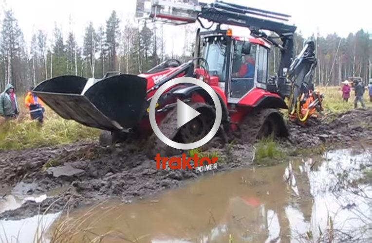 Huddigen kämpar i leran!