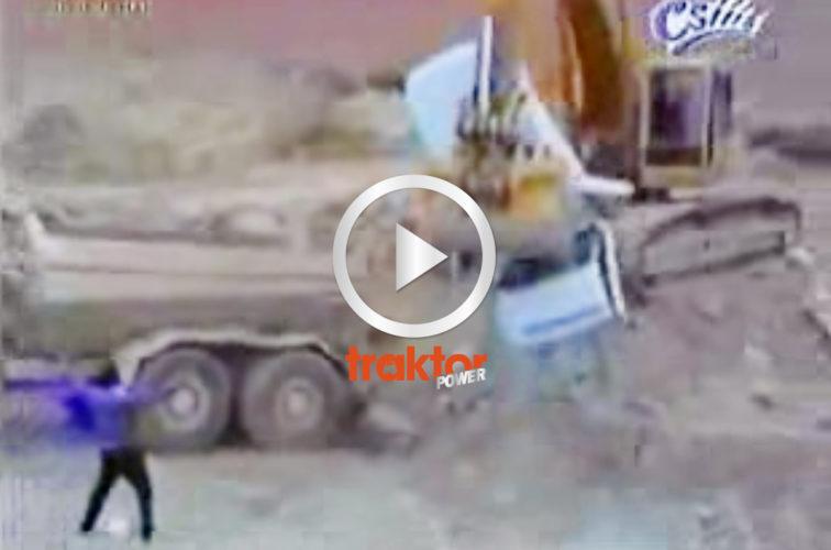 RETA inte upp en grävarförare!!!