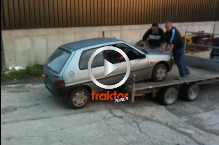 SMART sätt att lossa bilen!!!
