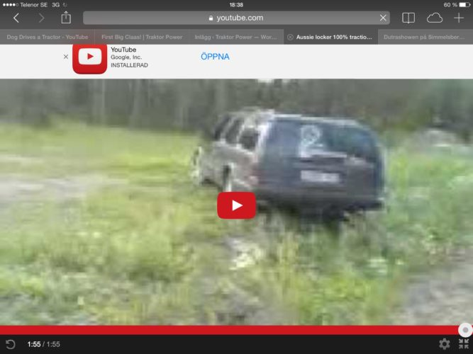 100 procent Volvo-traction!