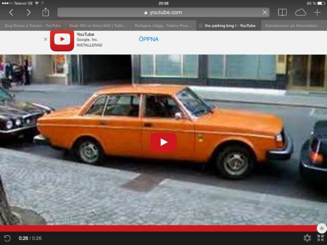 HUR kommer Volvon ut???