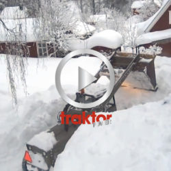 Baklastare i snösvängen!