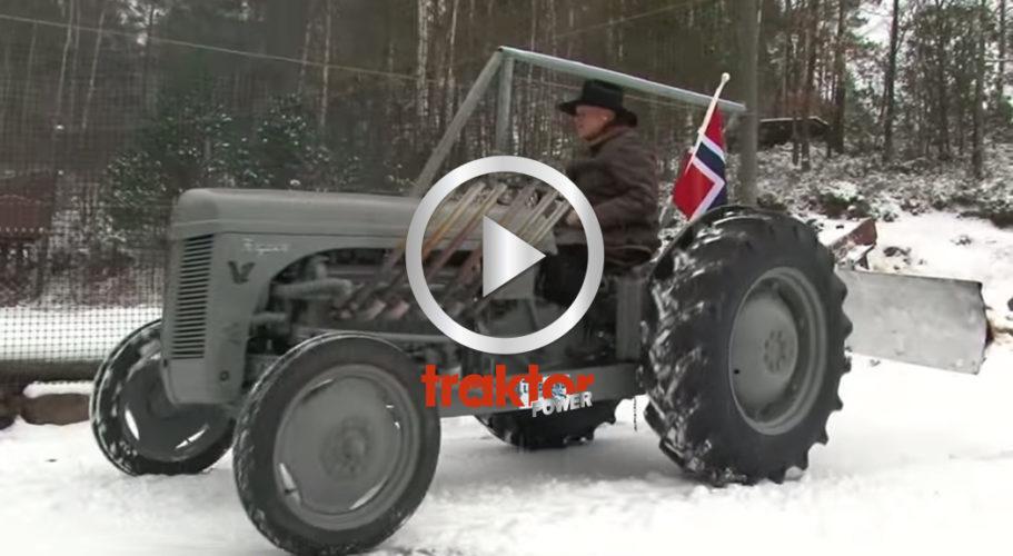 Norges mest kända snöröjare!