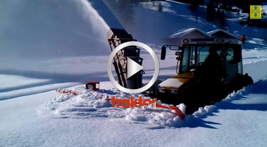 TUNGT i snön!!!