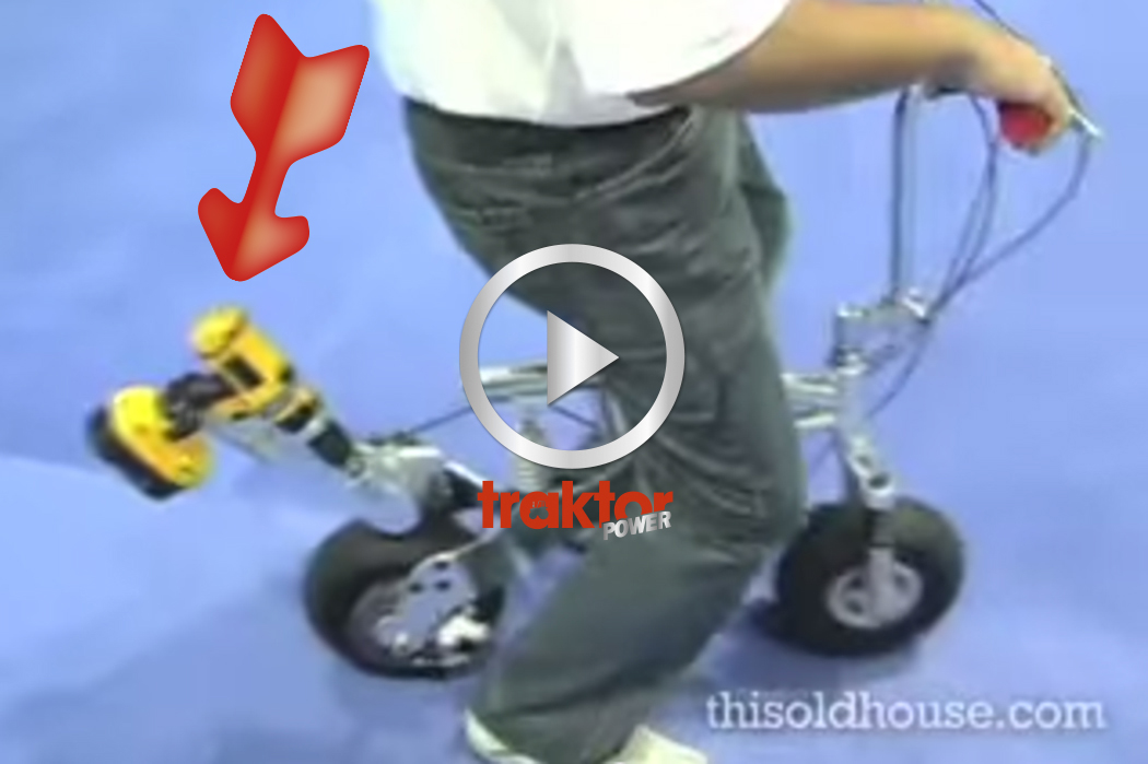 Dewalt-cykel!!! | Traktor Power