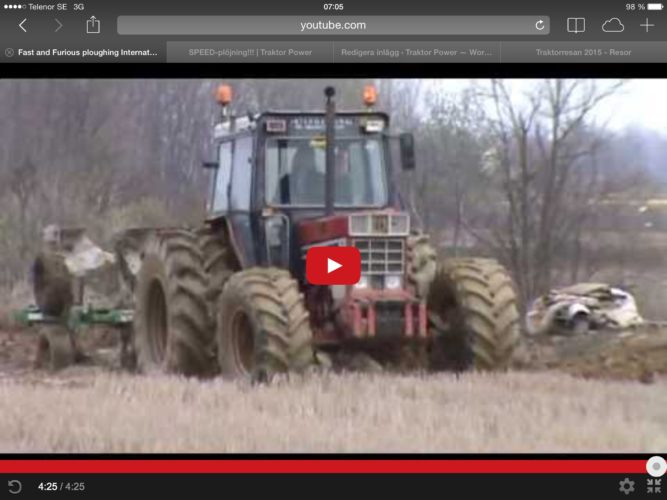 FAST plowing!