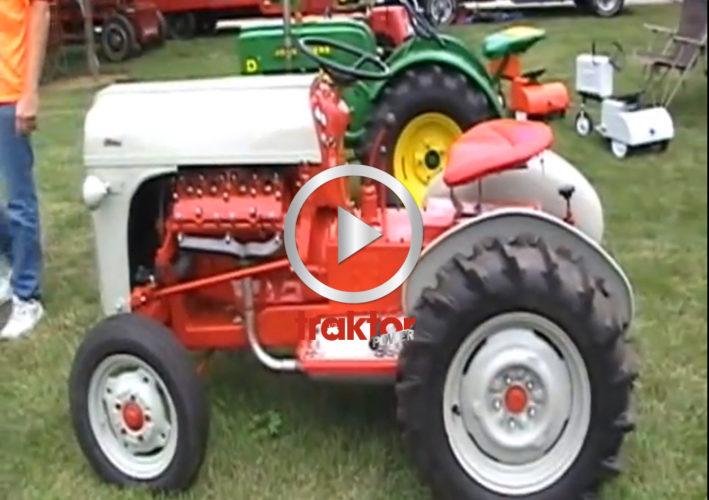Trädgårdstraktor med V8!!!
