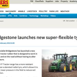 Super-flexibelt Bridgestone-däck