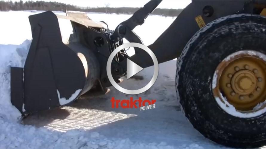 Sveriges proffsigaste snöröjare!