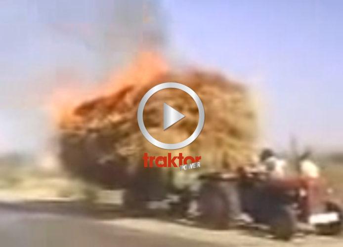 HALM brinner på vagnen!