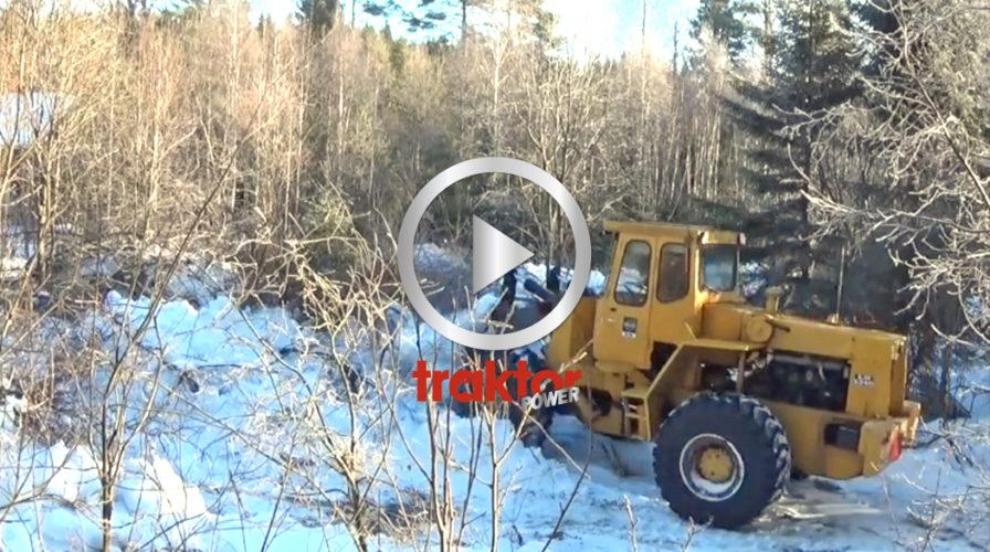 Sly- och snöröj SAMTIDIGT med lastmaskinen!!!