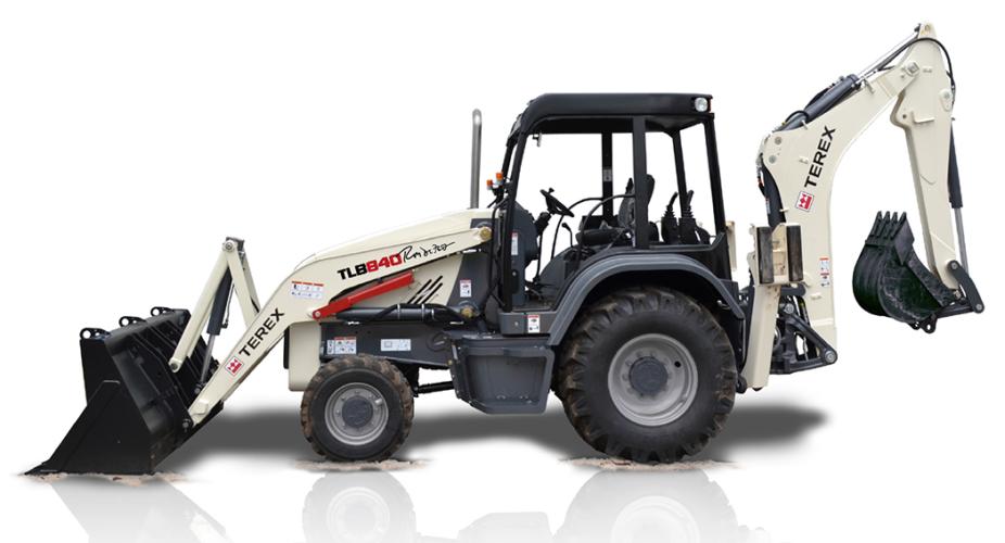 Ny traktorgrävare från Terex