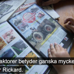 Traktor Power i TV4:s Unga bönder