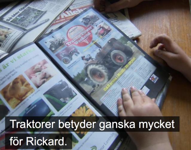 Traktor Power i TV4:s Unga bönder