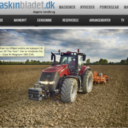 "Ny vinnarklass i ""Tractor of the Year"""