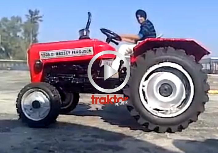 BÄSTA traktortricket!!!