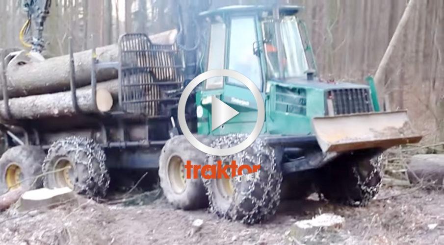 Timberjacken stönar under lasset