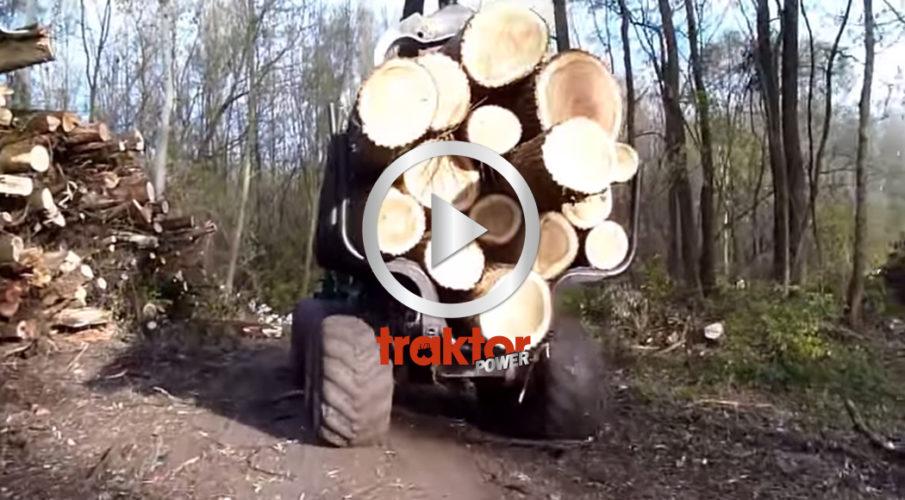 Timberjack med fullt lass!