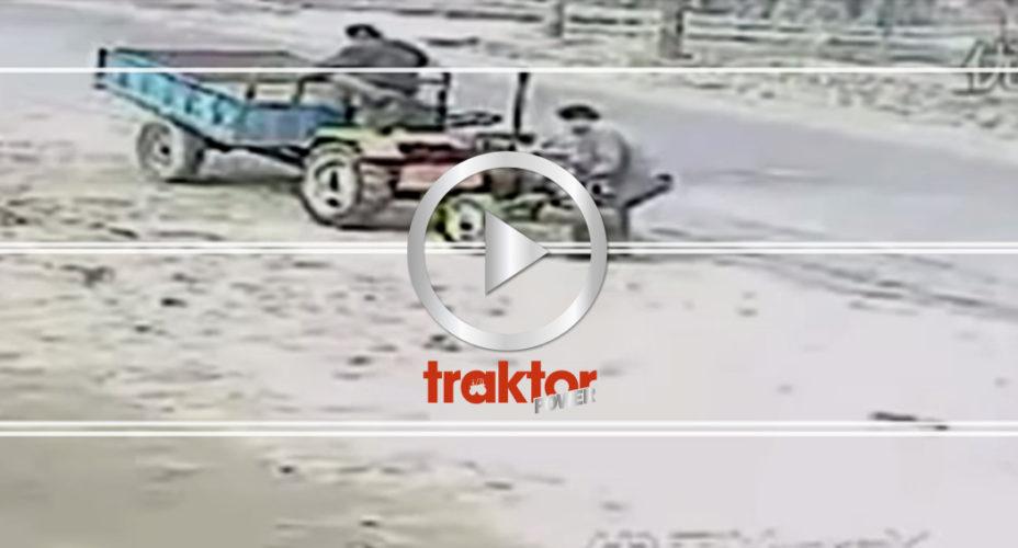 Traktor på rymmen!