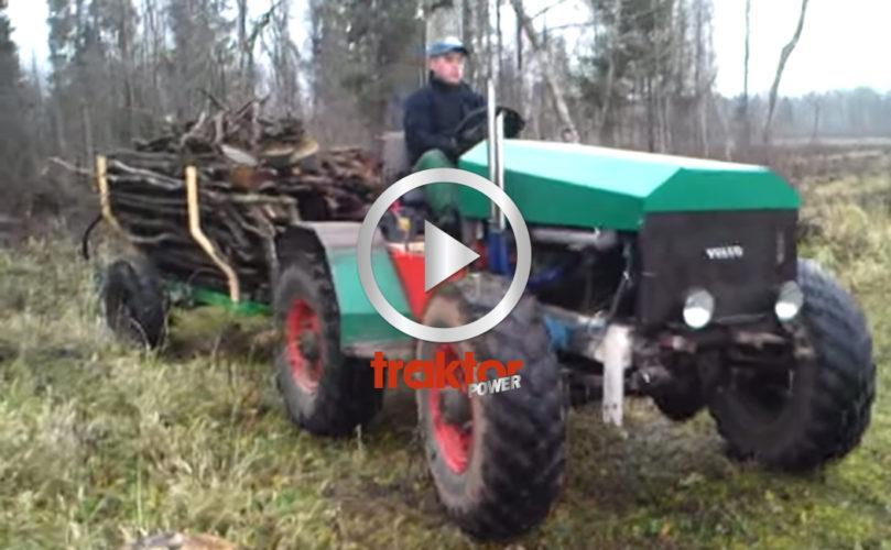 Hembyggd Volvotraktor