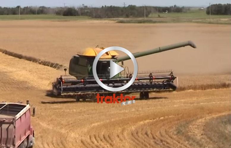 Big farming i Kanada!