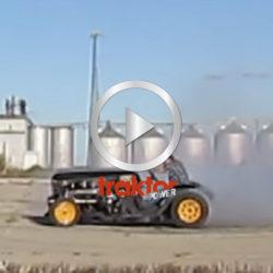 Världens snabbaste traktor!!!