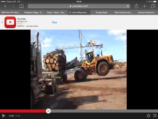 19 ton i Volvons käftar!