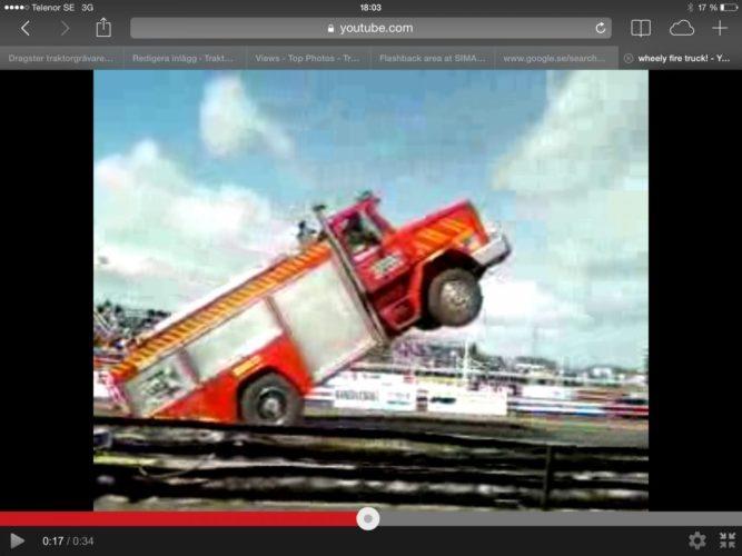 EN alldeles vild brandbil!!!