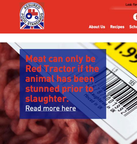 Red Tractor står för livsmedelskvalitet