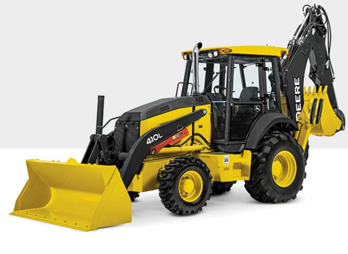 Nya John Deere traktorgrävare