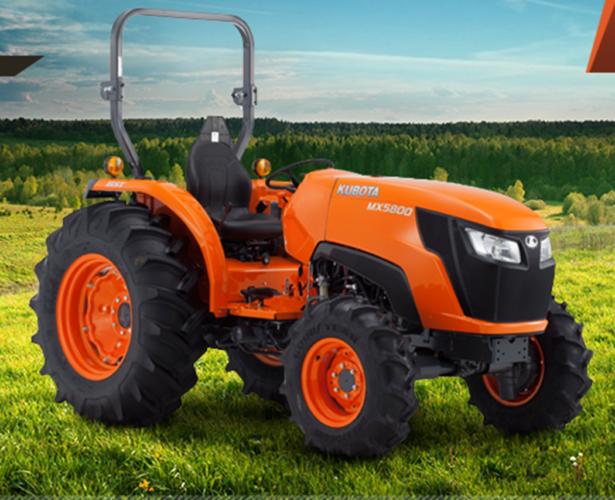 Kubota lanserar största MX-traktorn
