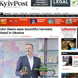 Optimistisk JD-chef i Ukraina