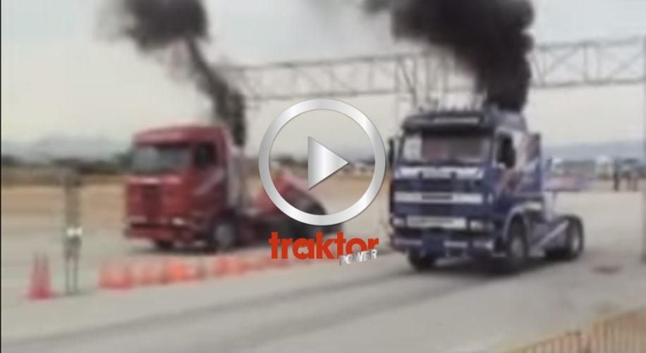 Scania 143 släpper loss!