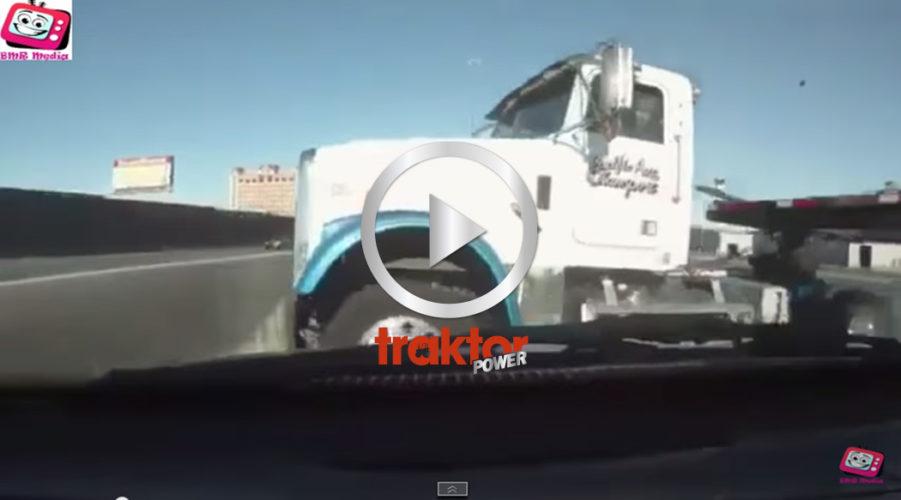 SE UPP en lastbil i vägen!