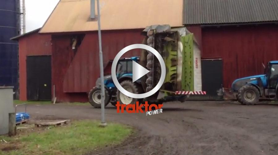 KOLLA krossen bakom traktorn