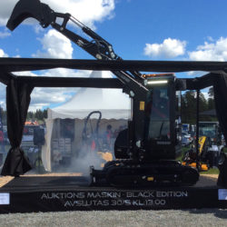 Maskinexpo: auktion på Yanmargrävare