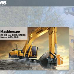 EMS Group tillbaka till Maskinexpo