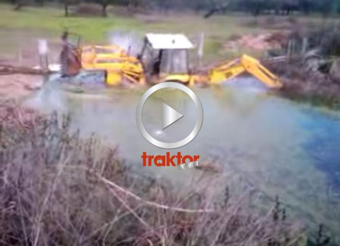 Plums ut i dammen!!!
