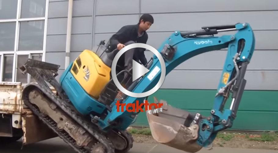 HÄNDIG grävarförare!