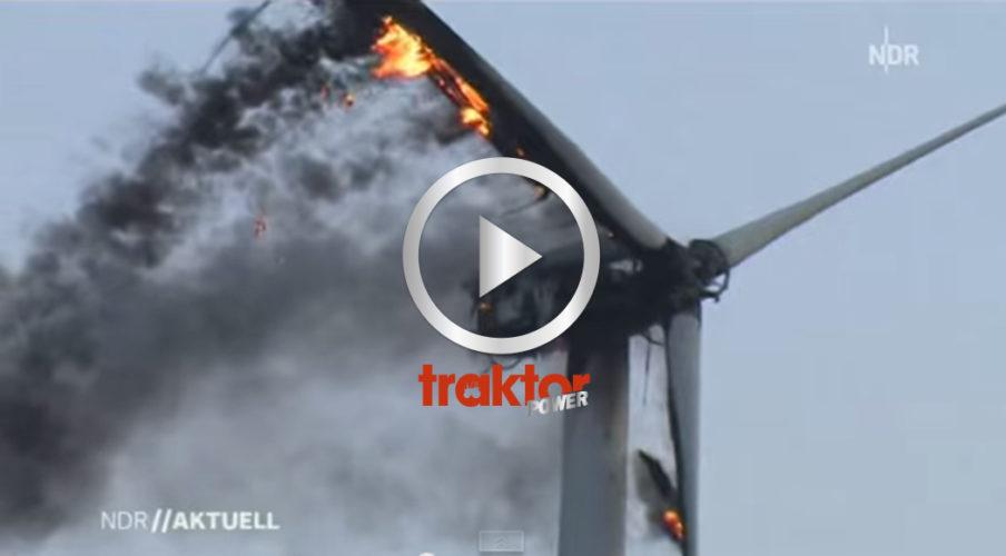 SÅ BRINNER ett vindkraftverk!!!