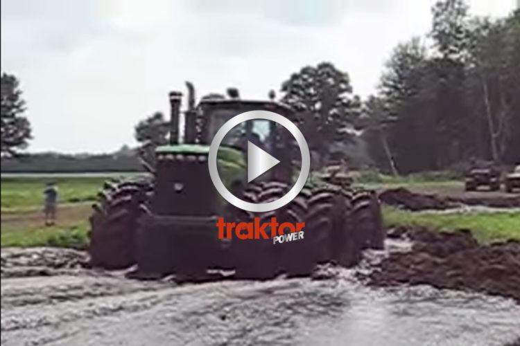En cool bärgar-traktor!