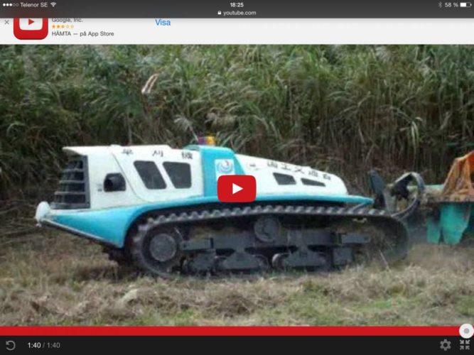 KOLLA robot-traktorn!!!