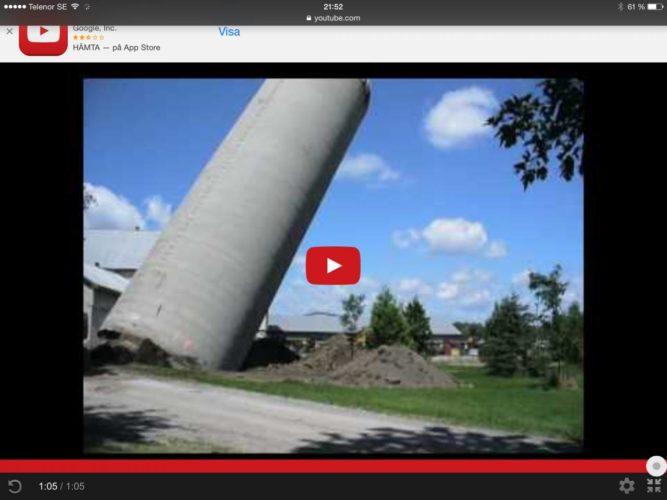 SÅ FÄLLER du en silo!!!