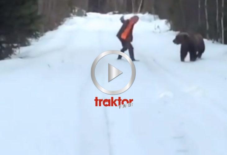 SÅ skrämmer du bort björnen!!!