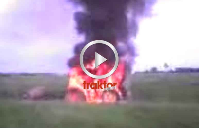 John Deere on fire!!!